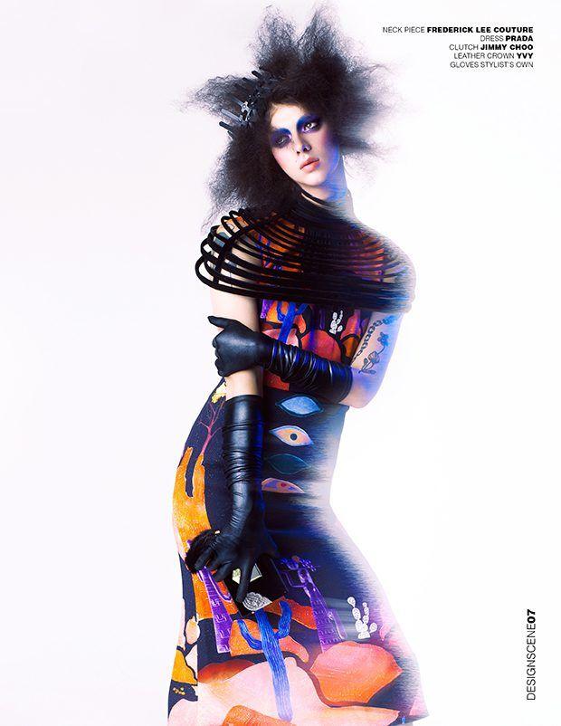 Expressive Couture Portraits