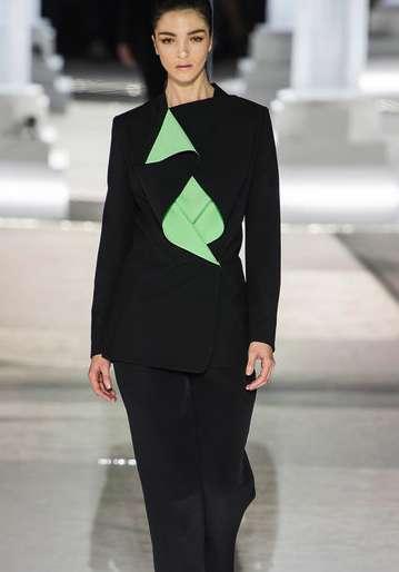Sculptural Bodice Womenswear