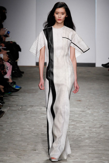 Sheer Architecture-Inspired Couture