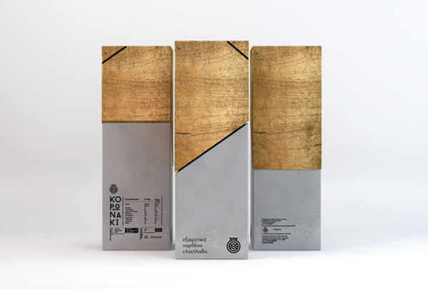 Minimalist Olive Oil Packaging