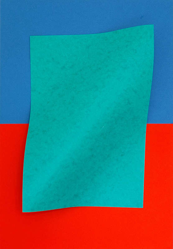 Vibrantly Abstract Paper Portraits