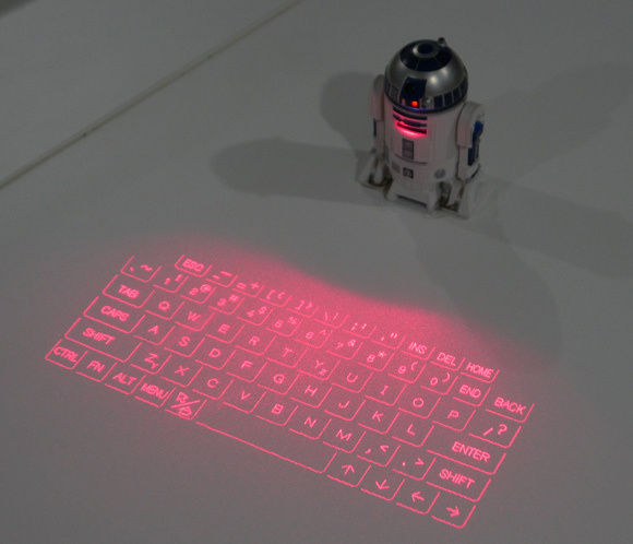 Droid Keyboard Projectors
