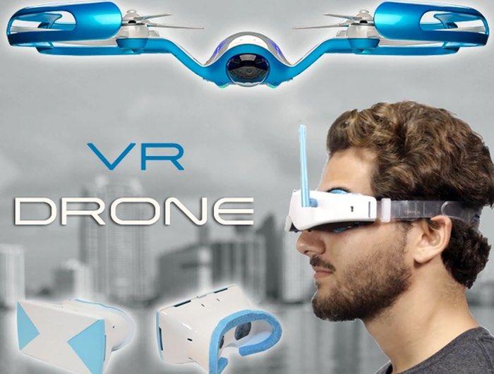Virtual Reality Drones