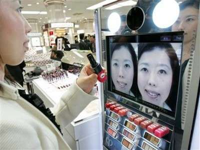 Virtual Realtime Makeup System
