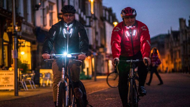 Life-Saving Cycling Jackets