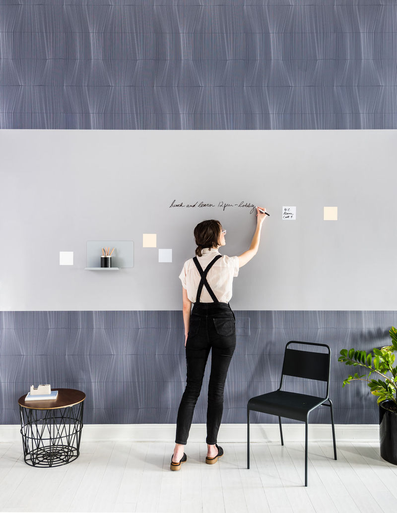Abstract Workspace Wall Coverings Visual Magnetics