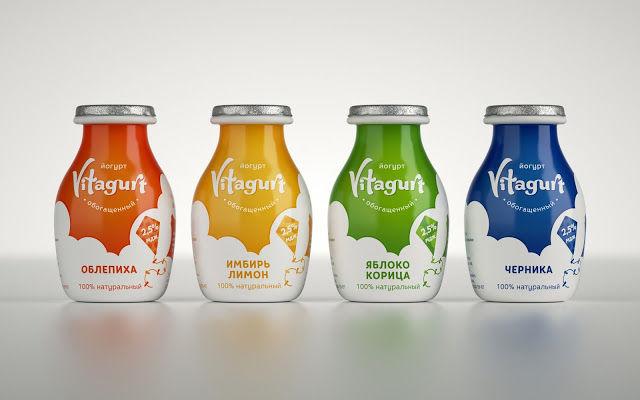 Cloud-Inspired Yogurt Packaging