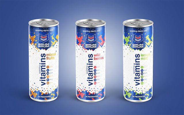 Energetic Vitamin Drinks