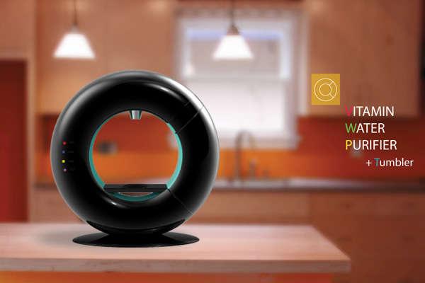 Donut-Shaped Aqua Filters
