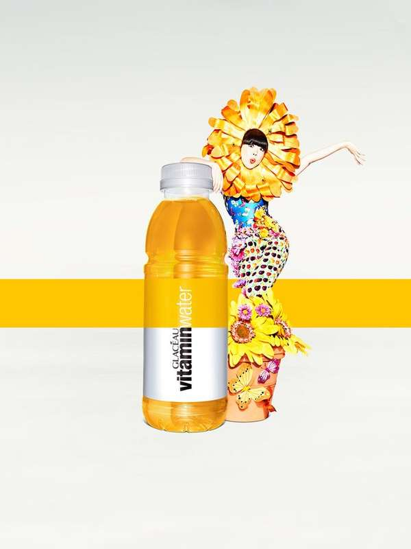 vitamin water campaign Raindrop vitamin water uses an innovative cap technology to keep your vitamins fresh and potent by storing them separately from water in an airtight cavity.
