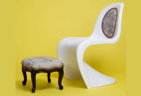 vitra panton chair reinvention
