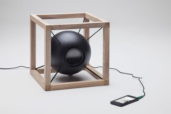 Spherical Floating Speakers