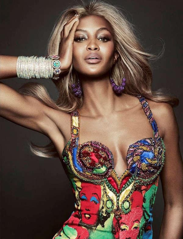 Exuberant Supermodel Comebacks