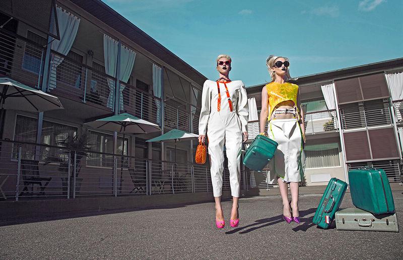 Glamorous Motel Editorials