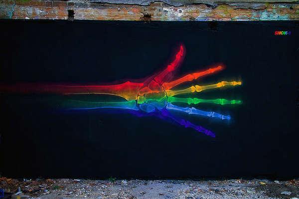 Vivid Anatomical Graffiti