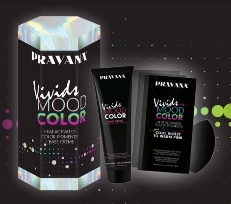 Heat Activated Hair Colors Vivids Mood Color