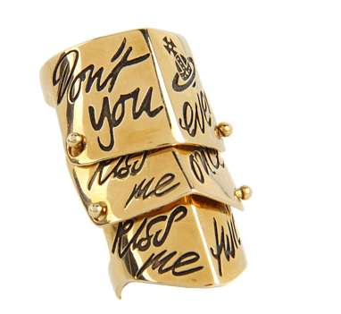Vivienne Westwood Kiss Me Twice Ring
