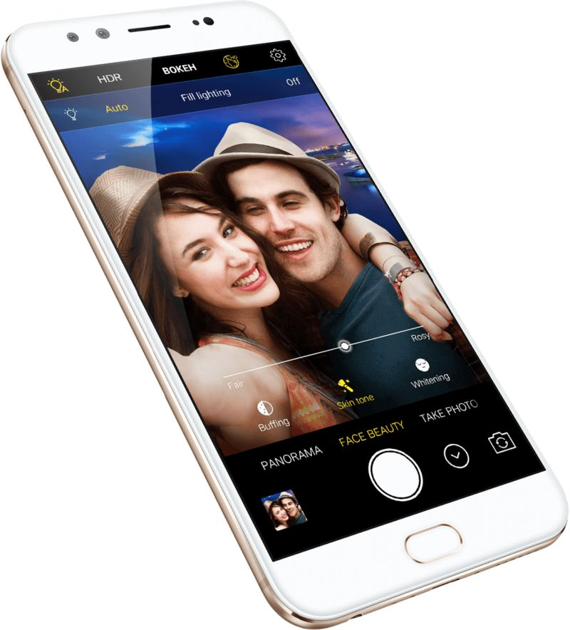 Selfie-Enhancing Smartphone Cameras