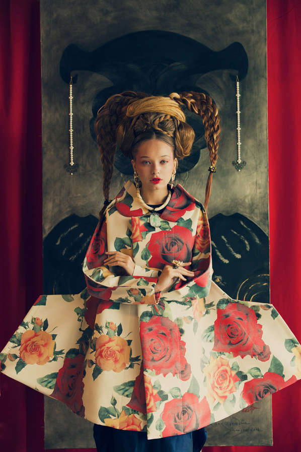Oriental Inspired Couture Captures