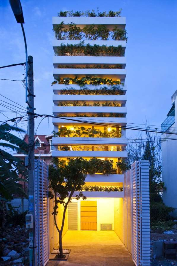 Stacked Green Structures