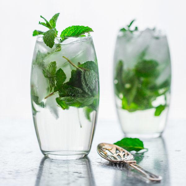 Maple Mint Cocktails