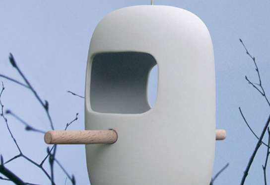 Cute Capsule Bird Feeders