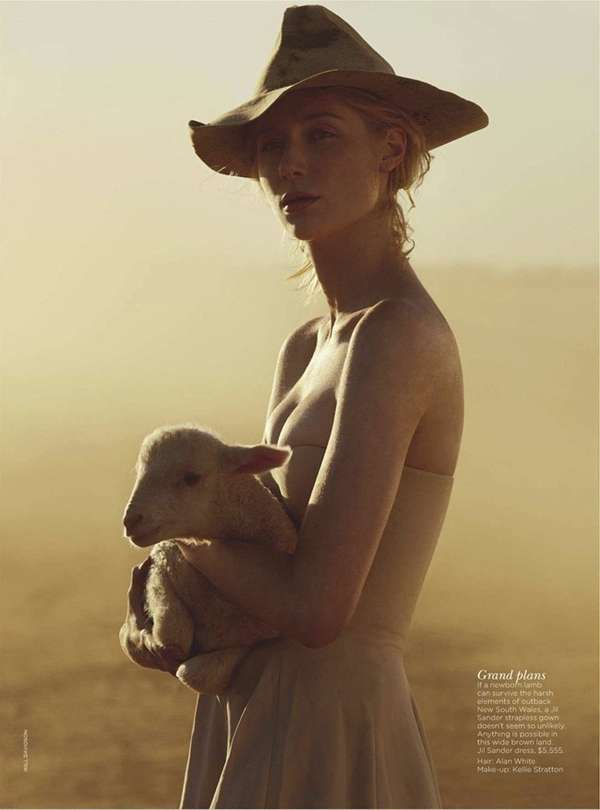 Luxe Outback Editorials