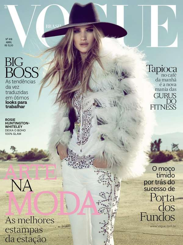 Vogue Brazil 'Gladiadora Do Futuro'