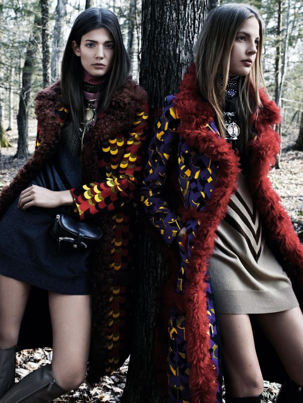 Couture Woodland Editorials