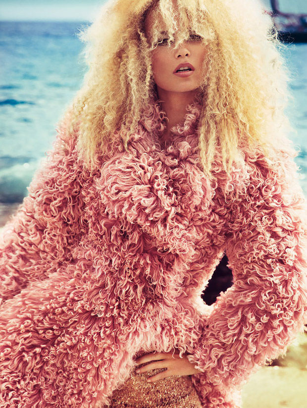 Crimped Couture Editorials