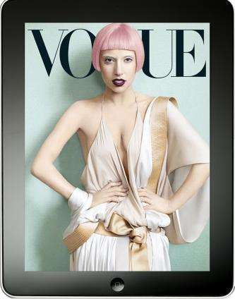 vogue cover exclusive ipad