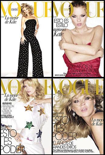 Quadruple Magazine Covers