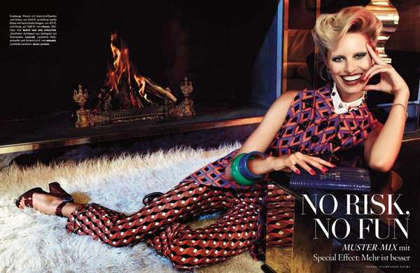 Vogue Germany 'No Risk, No Fun'