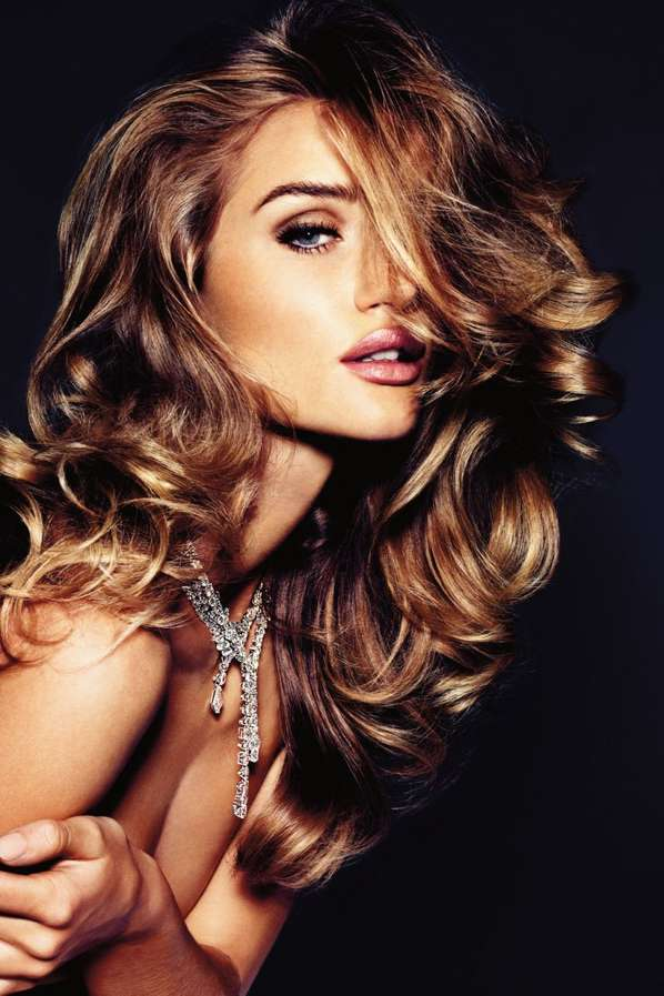 Vogue Germany Rosie Huntington