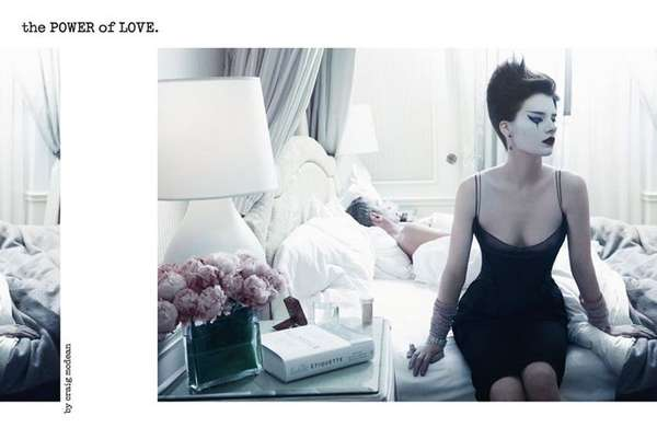 Couture Mime Editorials
