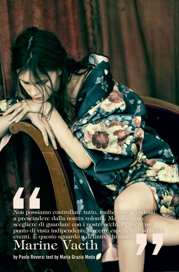 Somber Floral Editorials
