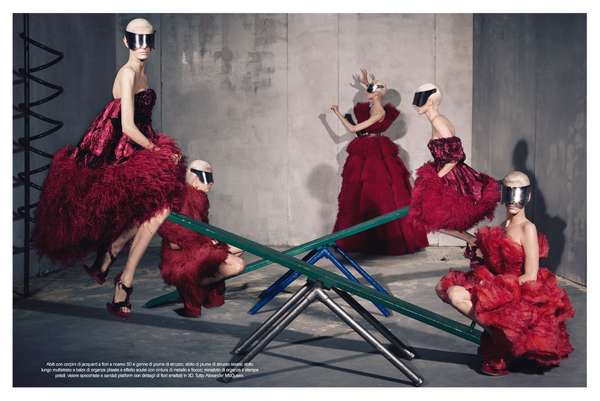 Vogue Italia July 2012 'Collections'