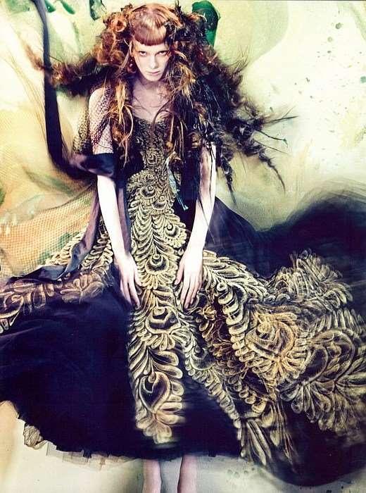 Watercolor Fantasy Couture