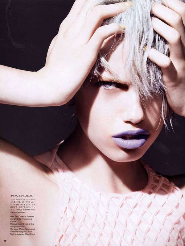 Provocative Pouting Editorials