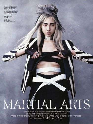 Elegant Martial Arts Editorials
