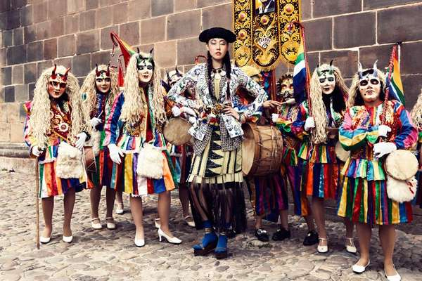 Vibrantly Peruvian Editorials