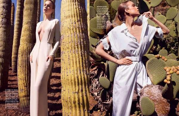 Prickly Fashion Pictorials