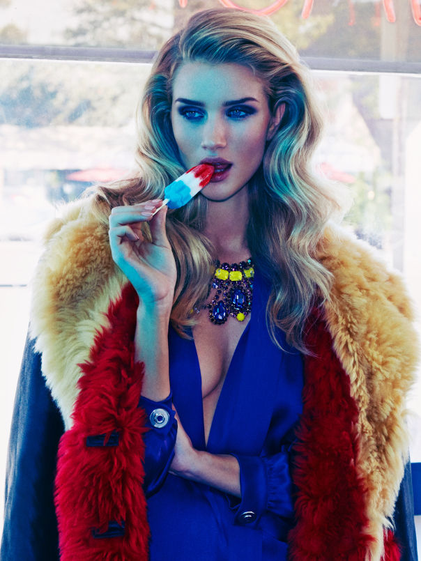 Luxurious Laundromat Editorials