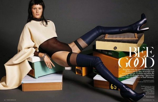 Vogue Netherlands 'Bee Good'