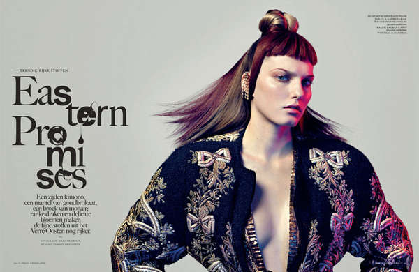 Vogue Netherlands 'Eastern Promises'