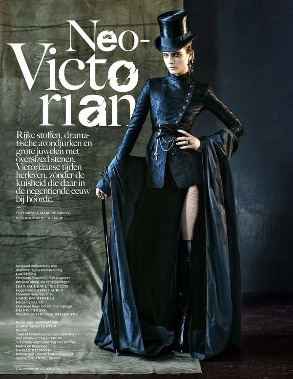 Vogue Netherlands 'Neo-Victorian'