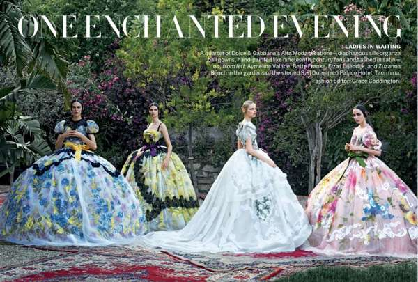 Rococo Botanical Couture