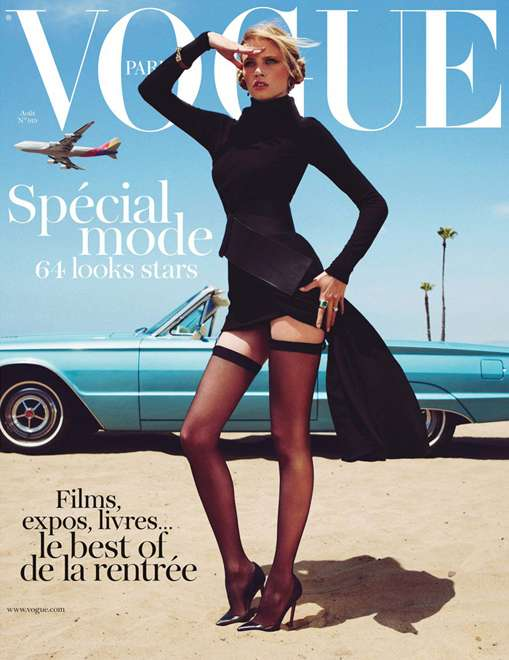 Vogue Paris August 2011