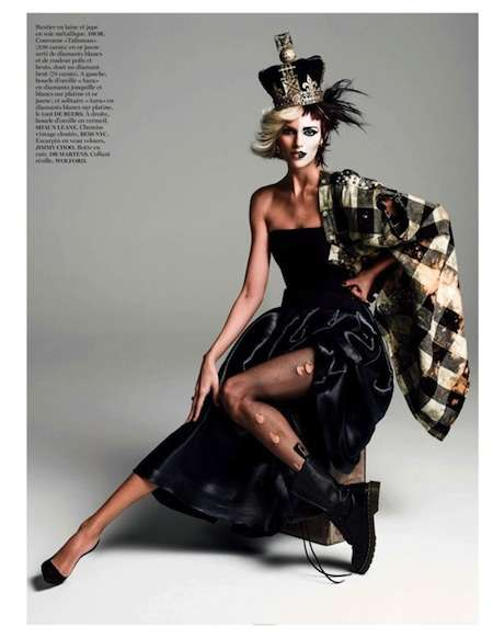 Split-Personality Fashion Editorials