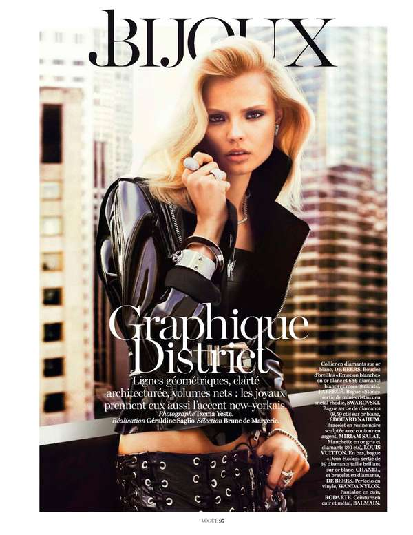 Vogue Paris 'Graphique District'